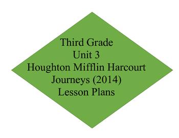 Unit 3 Journey's Lesson Plans 11-15