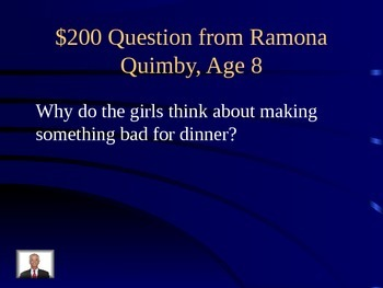 Unit 3 Lesson 15 Ramona Quimby, Age 8 Jeopardy Review