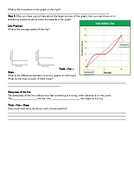 Unit 3 Lesson 2 | Motion Graphs & Velocity Note-taking guide
