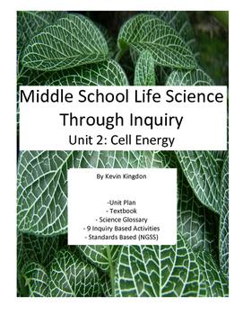 Unit 3: Living things use energy