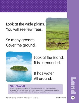 Unit 3: Look at the Land (Skill Sharpeners: Science)