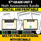 Unit 3 Math Resources - 5th Grade - Multiplying and Dividi