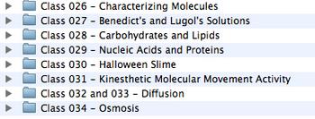 Unit 3 - Molecules and Movement