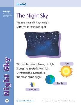 Unit 3: Night Sky (Skill Sharpeners: Science)