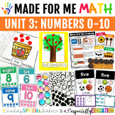 Unit 3: Numbers 0-10 (Made For Me Math)