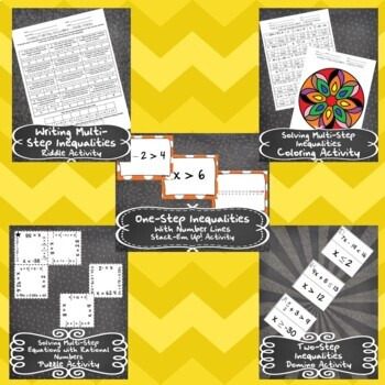 Unit 3 - One-Variable Equations and Inequalities - Activities-8th Grade MathTEKS