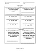 Unit 3 - Operations with Fractions and Decimals -Worksheets 6th Grade Math TEKS