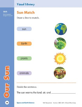 Unit 3: Our Sun (Skill Sharpeners: Science)
