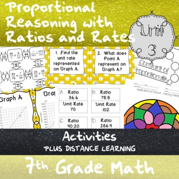 Unit 3-Proportional Reasoning with Ratios and Rates-Activities-7th GradeMathTEKS