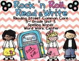 Unit 3 Reading Street 2013 3rd Grade Common Core Roll, Read, and Write Centers