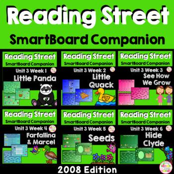 Unit 3 Bundle SmartBoard Companion Kindergarten