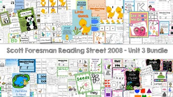 Unit 3 - Scott Foresman Reading Street® Resource Packets - Bundle Pack (2008)