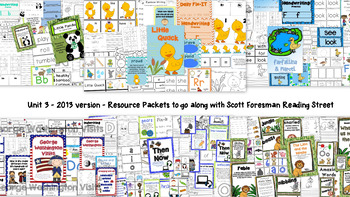 Unit 3 - Scott Foresman Reading Street® Resource Packets - Bundle Pack (2013)