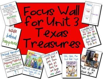 Focus Wall Texas Treasures Unit 3 Second Grade