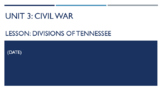 Unit 3 - Tennessee in the Civil War