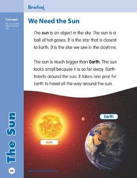 Unit 3: The Sun (Skill Sharpeners: Science)