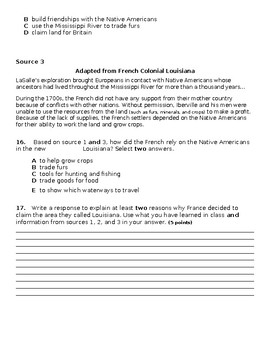 Unit 3: Topic 1 Early Explorers Assessment
