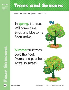 Unit 3: Trees and Seasons (Skill Sharpeners: Science)