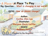 Unit 3 Week 1 - A Place to Play - Lesson Bundle (Version 2013 and 2011 only)