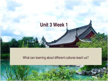 Unit 3 Week 1 Power Point Presentation Mc Graw Hill ELA Wonders Book