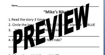Unit 3 Week 15 Mike's Bike