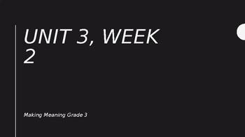 Unit 3, Week 2