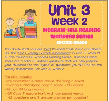Unit 3, Week 2 Study Guide for Wonders Second Grade