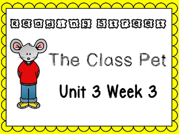 Unit 3 Week 3 Power Point Reading Street. First Grade.