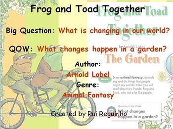 Unit 3 Week 4 - Frog and Toad Together - Lesson Bundle (Ve