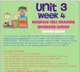 Unit 3, Week 4 Study Guide for Wonders Second Grade
