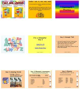 Unit 3 Week 5 - I'm a Caterpillar - Lesson Bundle (Version 2013, 2011, and 2008)