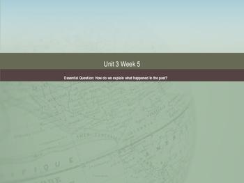 Unit 3 Week 5 Power Point Presentation Mc Graw Hill ELA Wonders Book