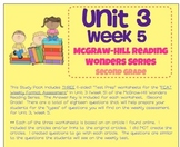 Unit 3, Week 5 Study Guide for Wonders Second Grade