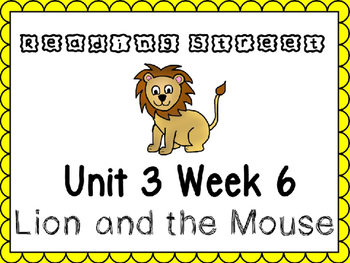 Unit 3 Week 6 Reading Street Power Point. Kindergarten