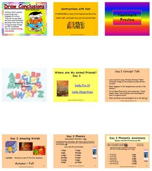 Unit 3 Week 6 - Where Are My Animal Friends - Lesson Bundle (2013, 2011, 2008)