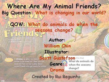 Unit 3 Week 6 - Where Are My Animal Friends - Lesson Bundl