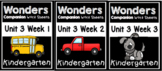 Unit 3 Weeks 1-3 Wonders Worksheets Kindergarten Centers