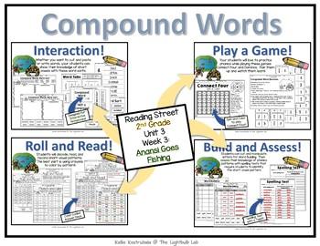 Unit 3 Word Study Packet Bundle
