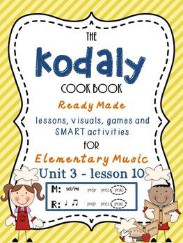Unit 3- lesson 10 Kodaly Cookbook {sol mi prac}{ ta ti-ti