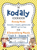 Unit 3- lesson 8 Kodaly Cookbook { ta ti-ti presentation} Elementary Music