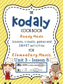 Unit 3- lesson 8 Kodaly Cookbook { ta ti-ti presentation}