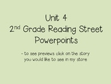 Unit 4 2nd Grade Reading Street Powerpoints Bundle