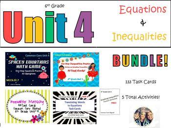 Unit 4 Activity Bundle!