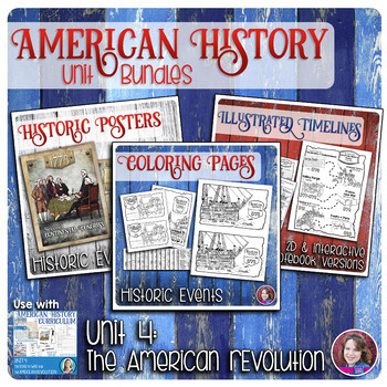 American Revolution Activities Bundle