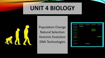 Unit 4 Biology PowerPoints and Question Sets