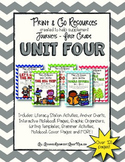 Unit 4 Bundle Journeys First Grade Print and Go