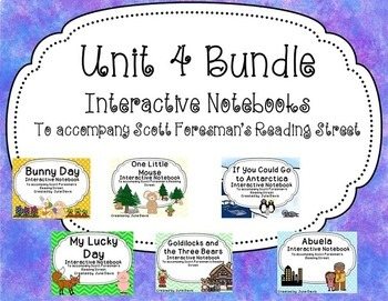 Unit 4 Bundle Interactive Notebook Journal