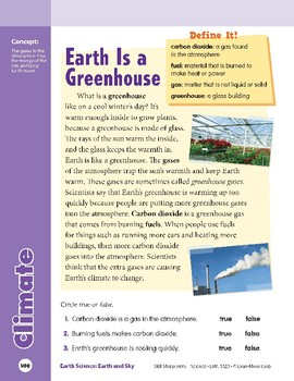Unit 4: Climate: Concepts (Skill Sharpeners: Science)