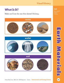 Unit 4: Earth Materials (Skill Sharpeners: Science)