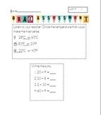 Unit 4 Everyday Math 2nd Grade Starred Skills Common Core